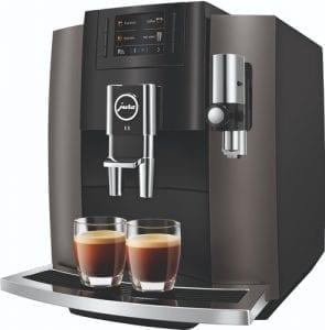 Jura E8 Dark Inox koffiemachine 2019