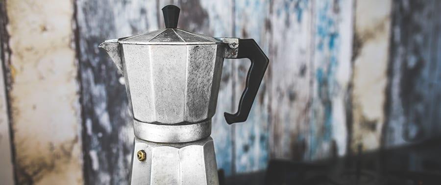 Koffie zetten met een mokkapot