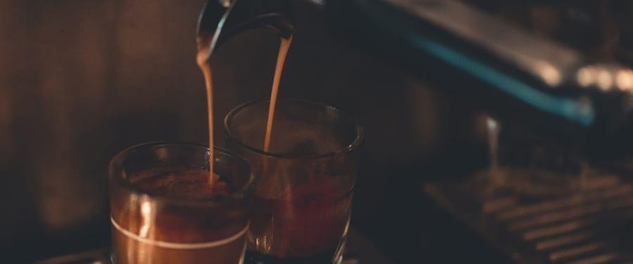 Gratis koffie drinken