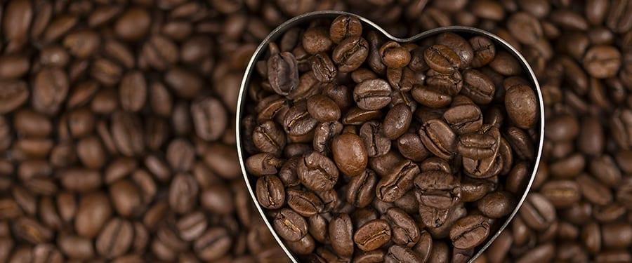 Gezonde koffiebonen