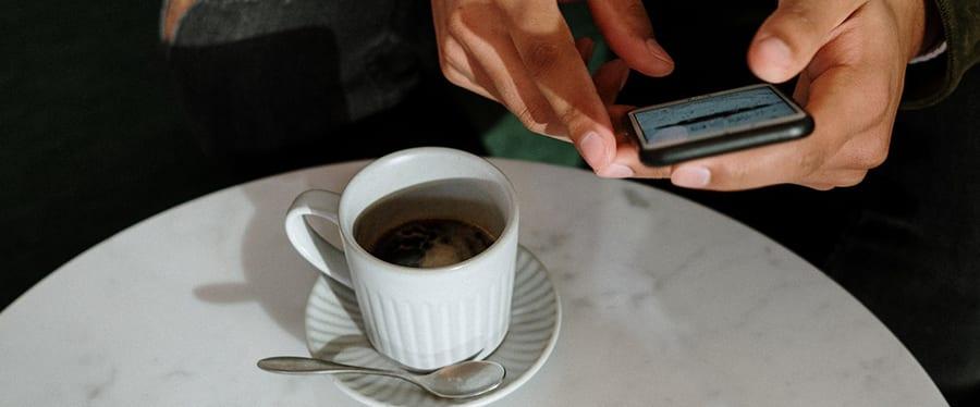 Koffie apps voor de iPhone