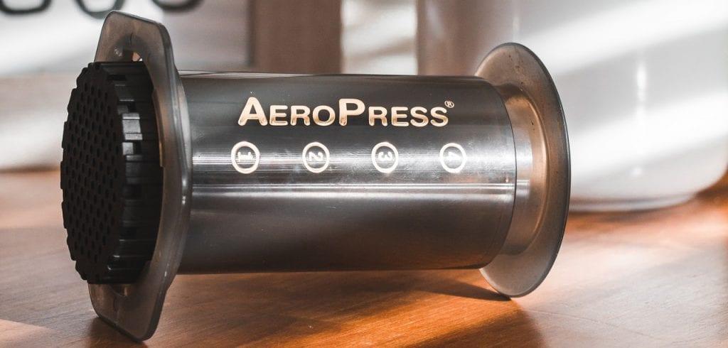 Aeropress koffie